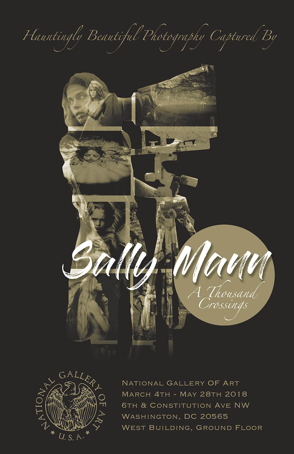 Eve Van Kampen's Sally Mann A Thousand Crossings Poster