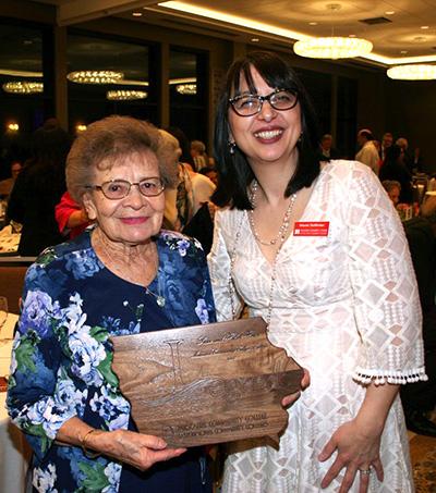 Helen Howe and MCC President Naomi DeWinter