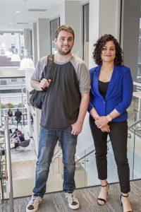 Eli Tisor and Alana Collins