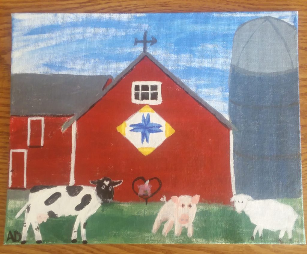 """The Farm"", by Amy Dykstra at CCC"