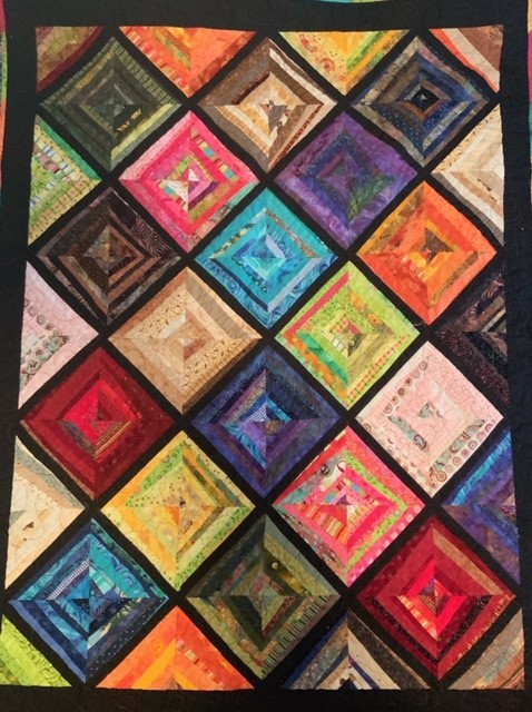 """The Journey"", Fabric Quilt by Sherry Horan at SCC"