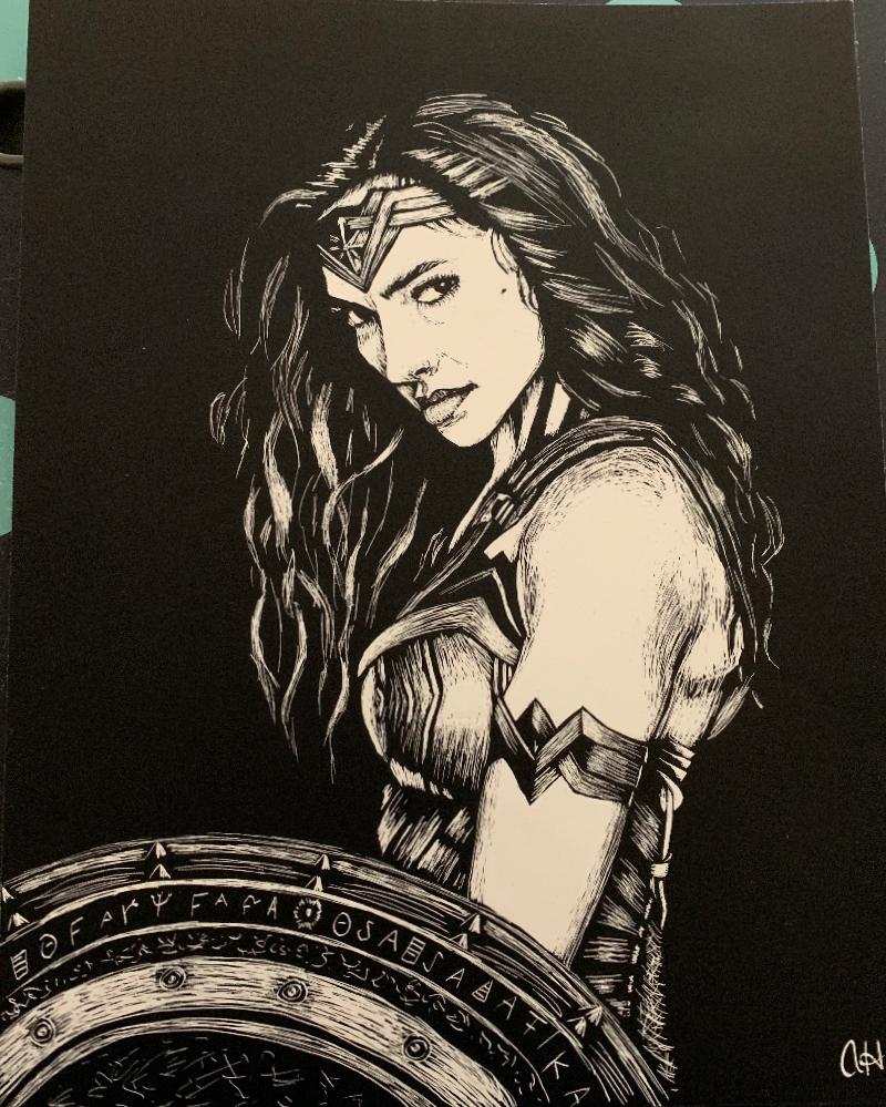 Wonder Women by Ashley Hartwig, Math Instructor at SCC