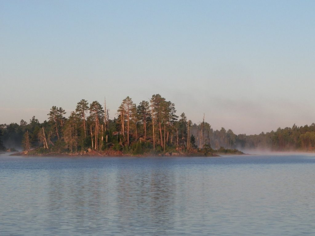 An island in the BWCAW Photo: Jacob Wilbourne