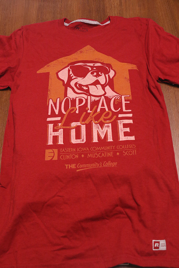 No Place Like Home - EICC Dog Tshirt